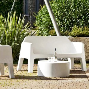 The Pulse Sofa has anti-skid feet and can be used indoors or outdoors.