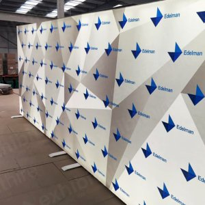Our Step and Repeat walls come in three different sizes and are ideal for taking photographs, interviewing and dividing rooms.