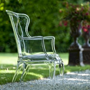 The Clear Throne Chair is an eye-catching furniture piece that will be sure to impress event guests.