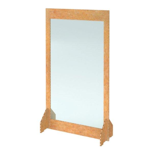 1000 x 1800 Eco Freestanding Covid Screen - Natural