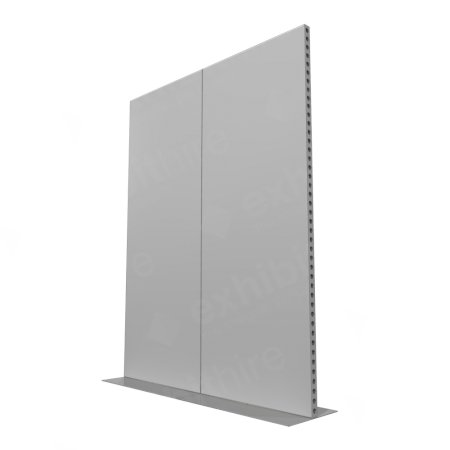 2m Lightweight Portable Aluminium Partition