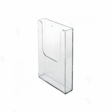 A4 Wall Mounted Clear Literature Rack