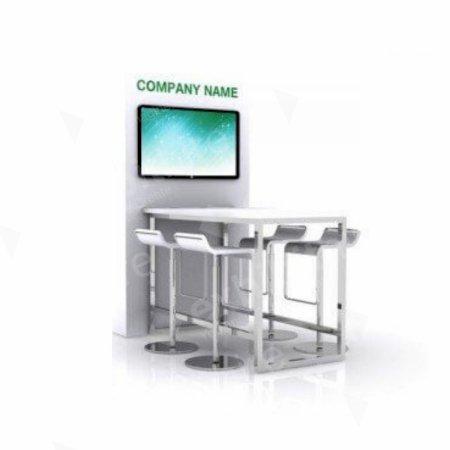 https://www.exhibithire.co.uk/AV / Meeting Table White