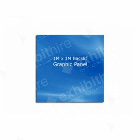 Backlit Graphic Panel 1M x 1M