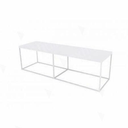 https://www.exhibithire.co.uk/Box Frame Bench - White 460 x 1600 x 460