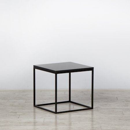 https://www.exhibithire.co.uk/Box Frame Coffee Table Black 460 x 460 x 460 (h)