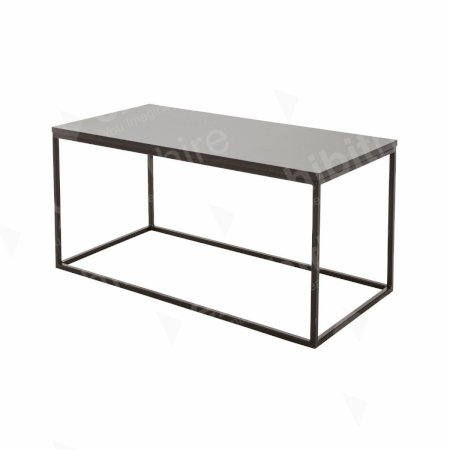 https://www.exhibithire.co.uk/Box Frame Coffee Table Black 460 x 920 x 460 (h)