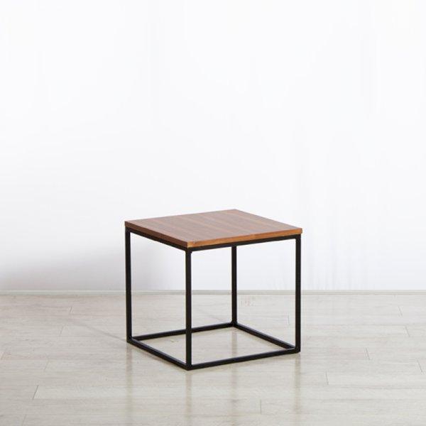 Box Frame Coffee Table Walnut 460 x 460 x 460 (h)