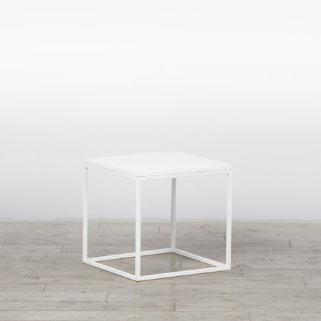 Box Frame Coffee Table White 460 x 460 x 460 (h)