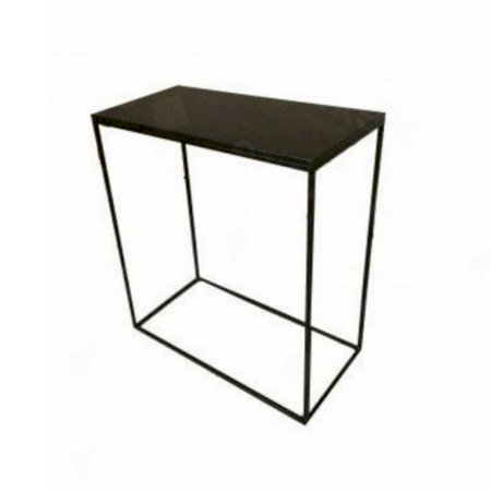 Box Frame High Table Black 460 x 920 x 1020 (h)
