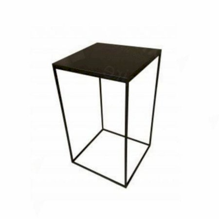Box Frame High Table Black 600 x 600 x 1020 (h)