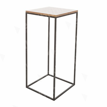 Box Frame High Table Walnut 460 x 460 x 1020 (h)