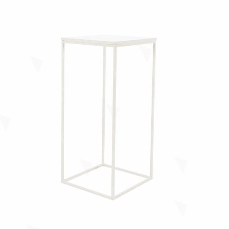 https://www.exhibithire.co.uk/Box Frame High Table White 460 x 460 x 1020 (h)