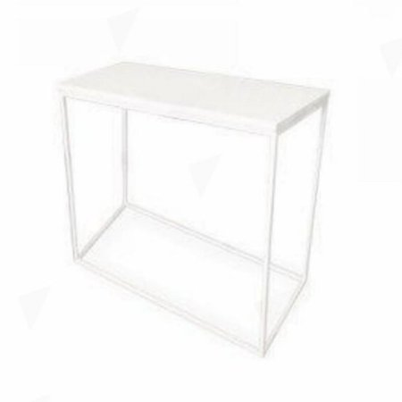 Box Frame High Table White 460 x 920 x 1020 (h)