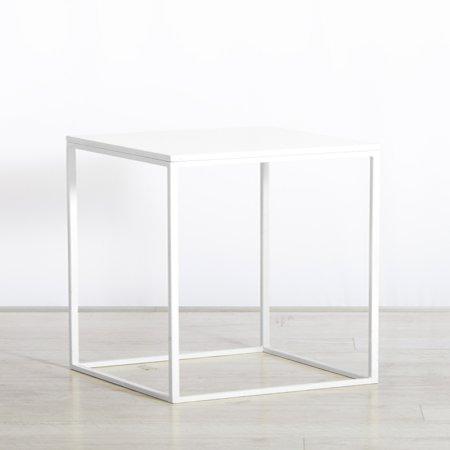 Box Frame Medium Table White 460 x 700 x 720 (h)