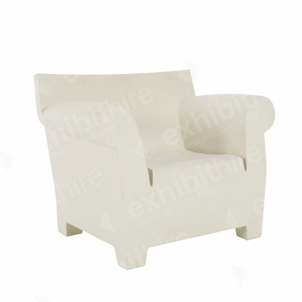 Bubble Club Chair White
