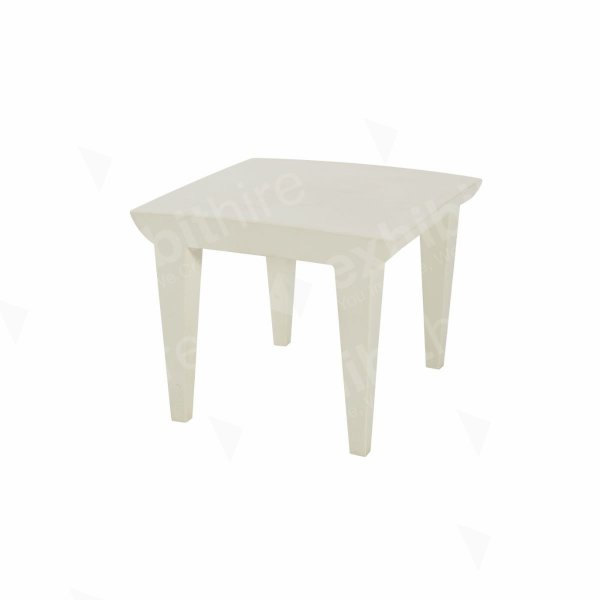 Bubble Club Table White