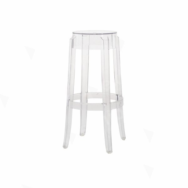 Charles Ghost High Stool Clear