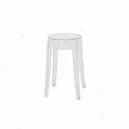 https://www.exhibithire.co.uk/Charles Ghost Low Stool Clear