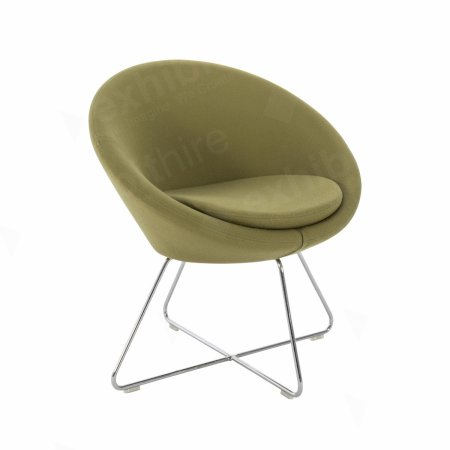 https://www.exhibithire.co.uk/Conic Chair Green