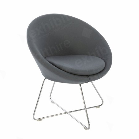 https://www.exhibithire.co.uk/Conic Chair Grey