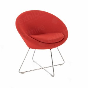 Conic Chair Red