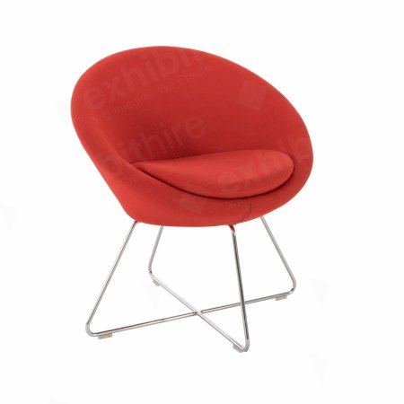 https://www.exhibithire.co.uk/Conic Chair Red