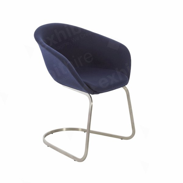 Duna Chair Blue Fabric