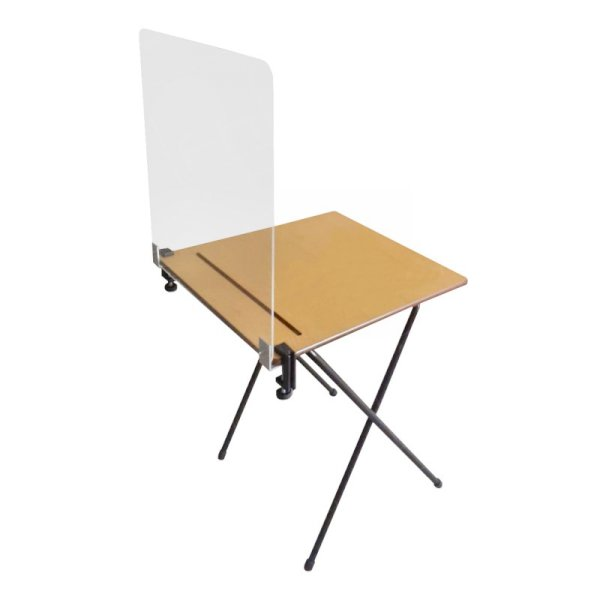 Exam Desk Covid Protection Screen