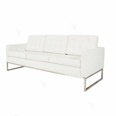 Knoll Large Sofa White