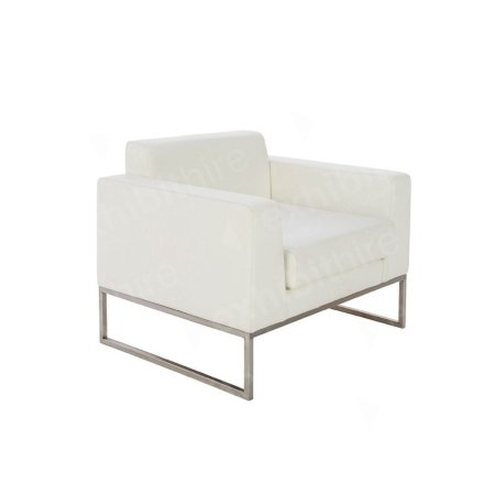 Lay Chair White