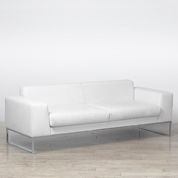 Lay Sofa Large - White