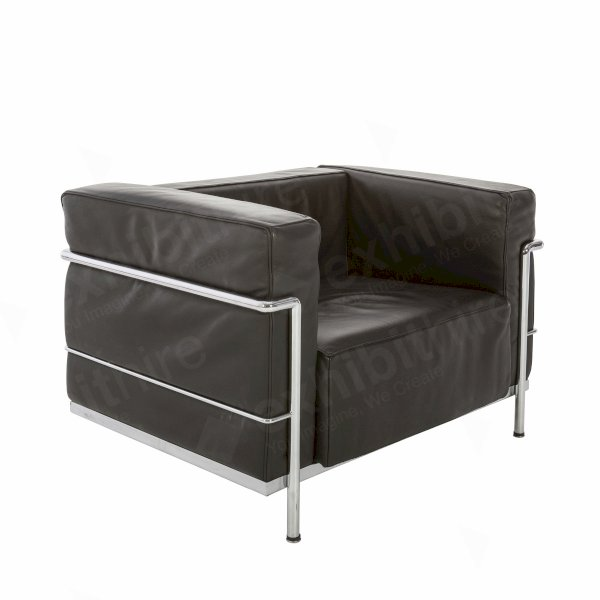 Le Corbusier Chair Black