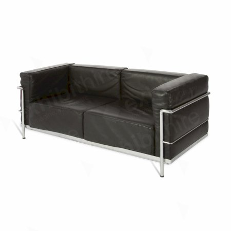 Le Corbusier Sofa Black