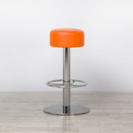 Lotus Stool Orange