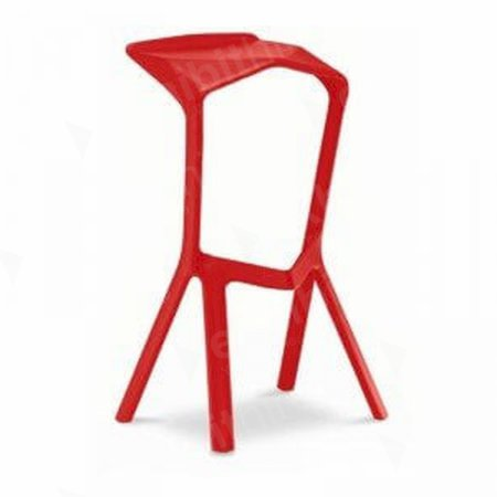 Mara Stool Red