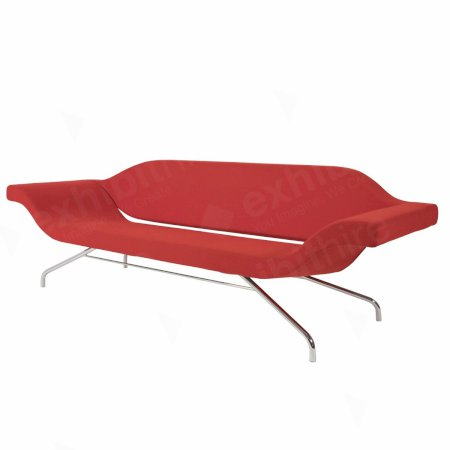 Ondo Sofa Red