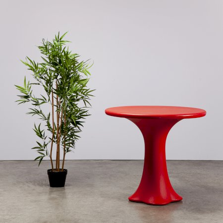 Petal Table Red