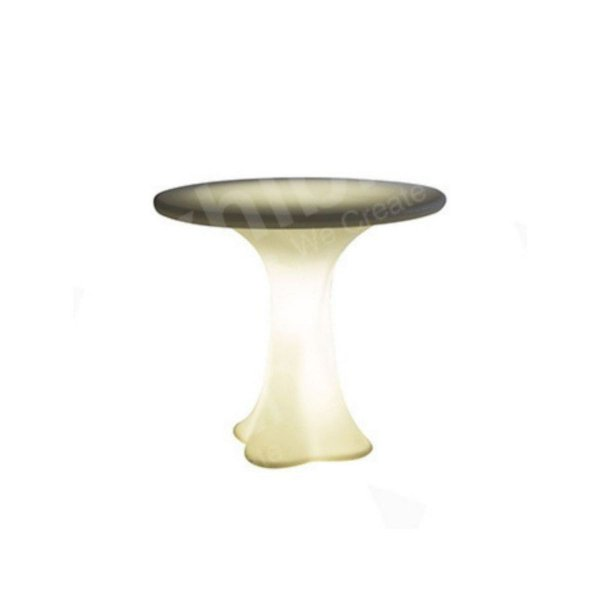 Petal Table White (Battery Powered)