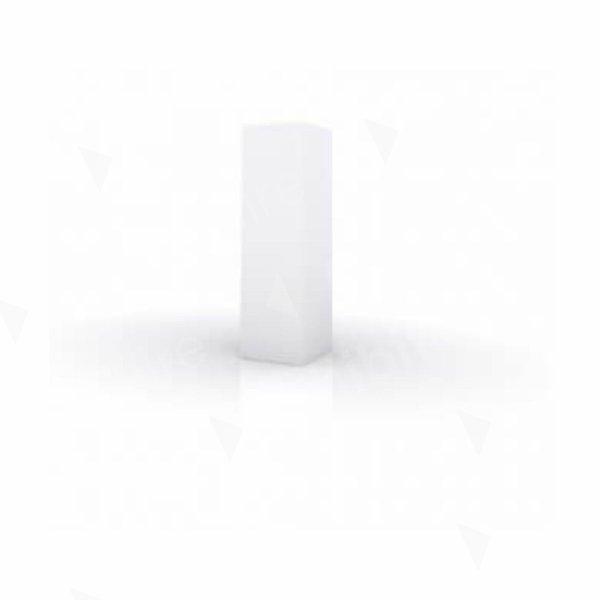 Plinth White 300 x 300 x 1000