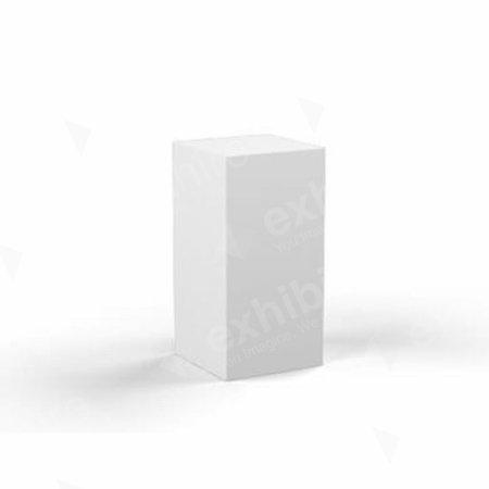 Plinth White 300 x 300 x 600