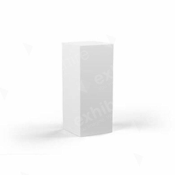 Plinth White 300 x 300 x 800