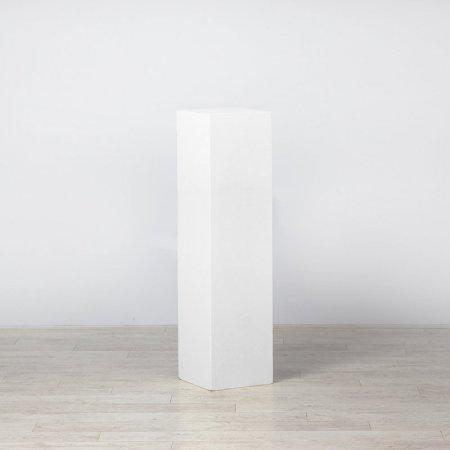 Plinth White 400 x 400 x 1200