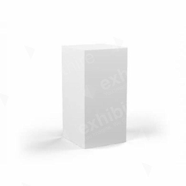 Plinth White 400 x 400 x 800