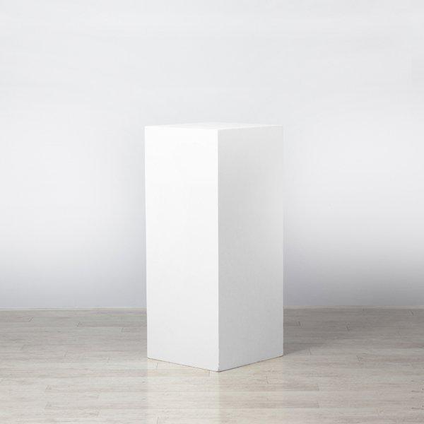 Plinth White 500 x 500 x 1000