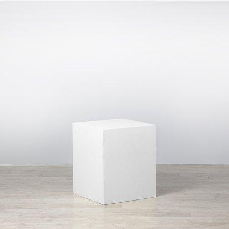 Plinth White 500 x 500 x 600