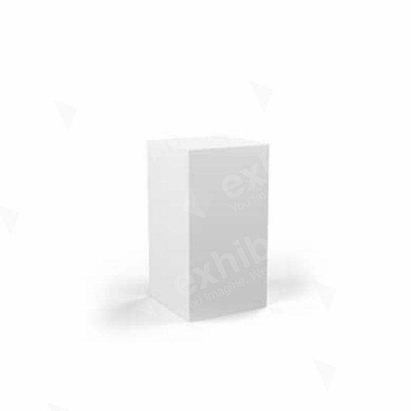 Plinth White 500 x 500 x 800
