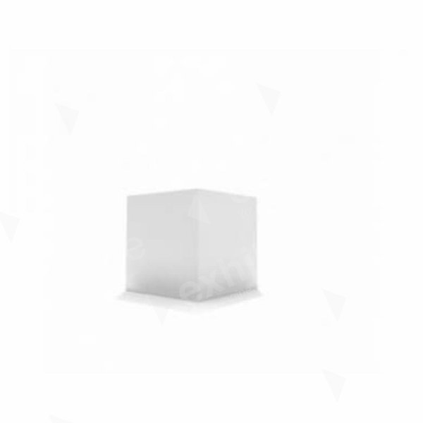 Plinth White 600 x 600 x 400