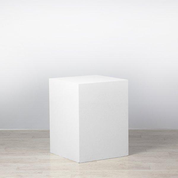 Plinth White 600 x 600 x 800
