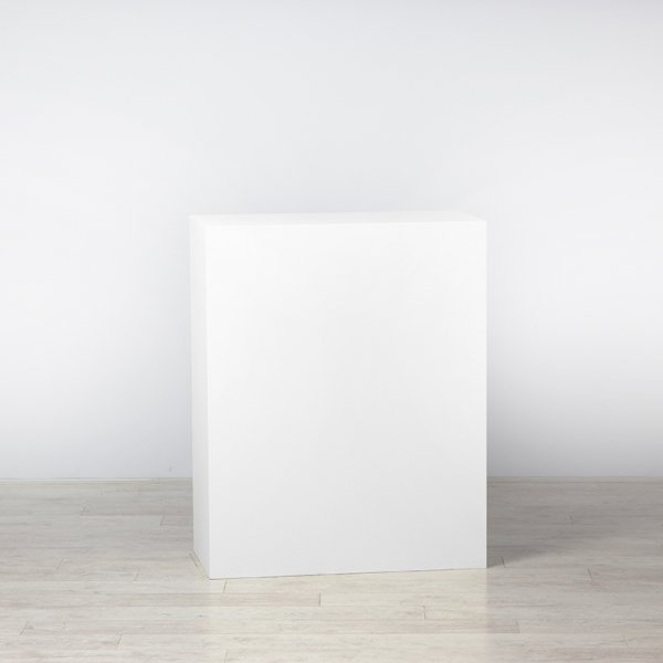 Plinth White 800 x 400 x 1000